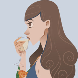cocktail woman